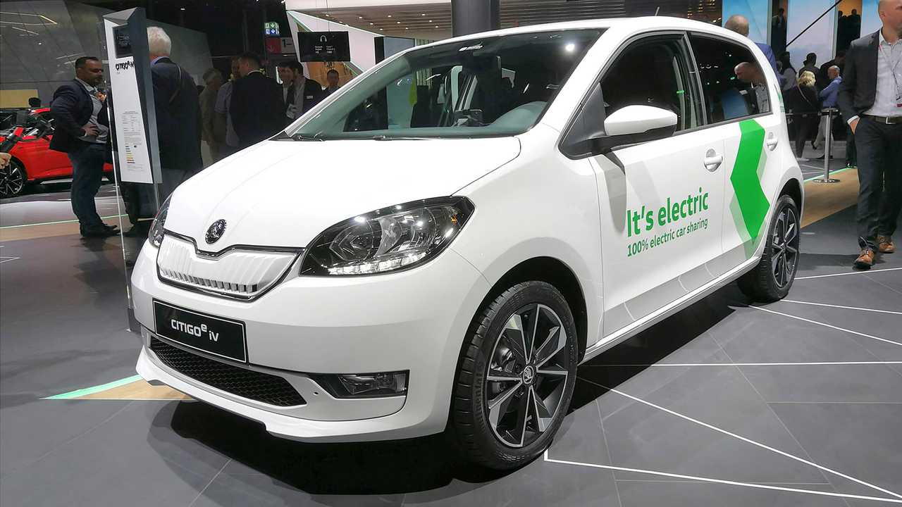 IAA 2019 - Elektroautos: Skoda Citigo e iV