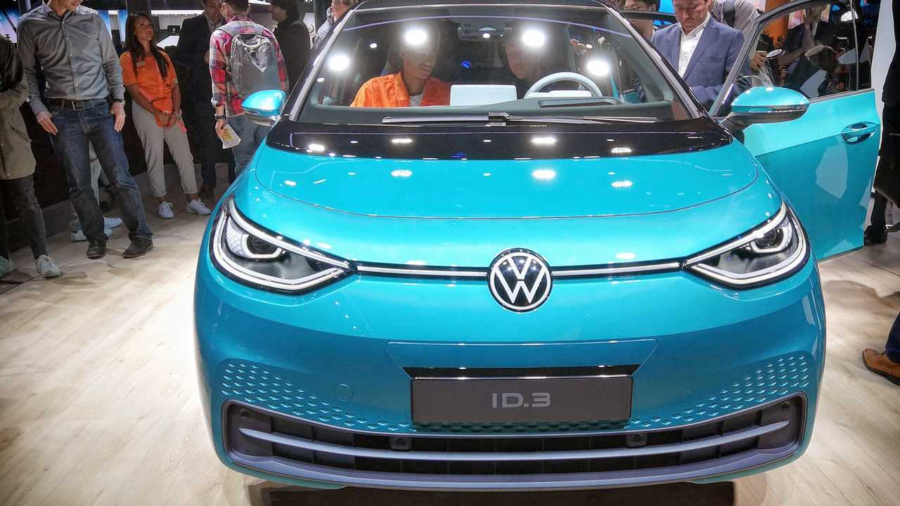 Volkswagen ID.3 Sitzprobe - IAA 2019