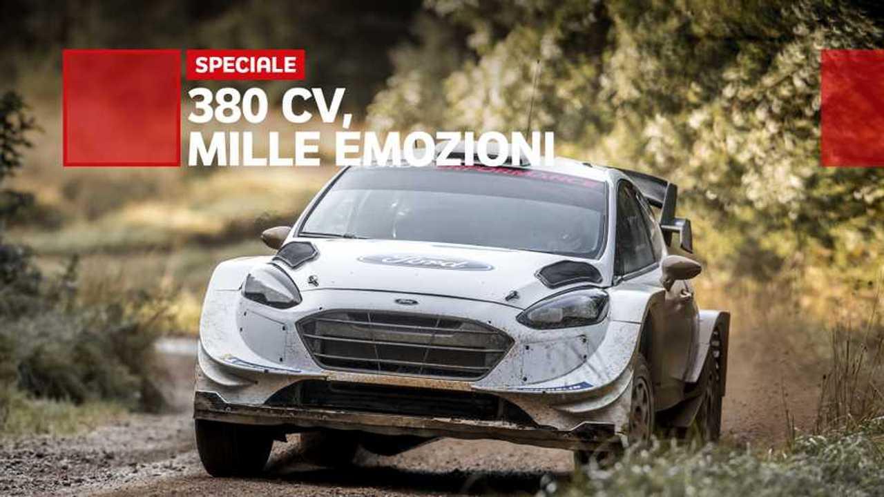 Copertina Ford Fiesta WRC, supercar per tutti i terreni