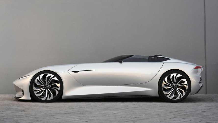 "Karma SC1 Vision Concept car in ""New Dawn Silver"""
