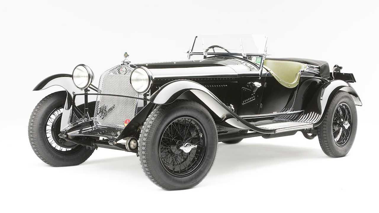 Alfa Romeo 6C 1750 Gran Sport Spider (1931) - 2,7 millió euró