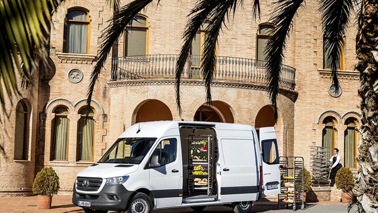 Nuovo Mercedes-Benz Sprinter 2