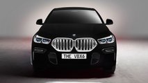 BMW X6 in Vantablack