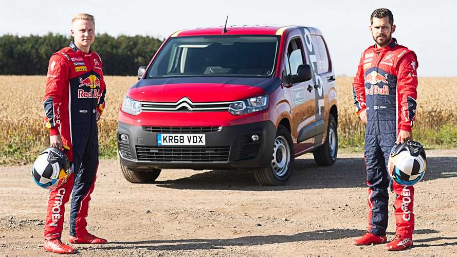 Watch as Citroen van gets 'ultimate test' on rally special stage