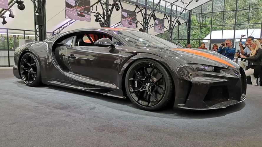 Bugatti anuncia la producción del Chiron Super Sport 300+