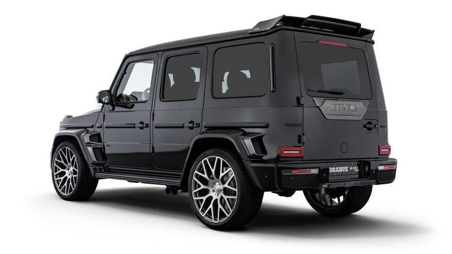 mercedes amg g class v12 brabus motor1. Black Bedroom Furniture Sets. Home Design Ideas