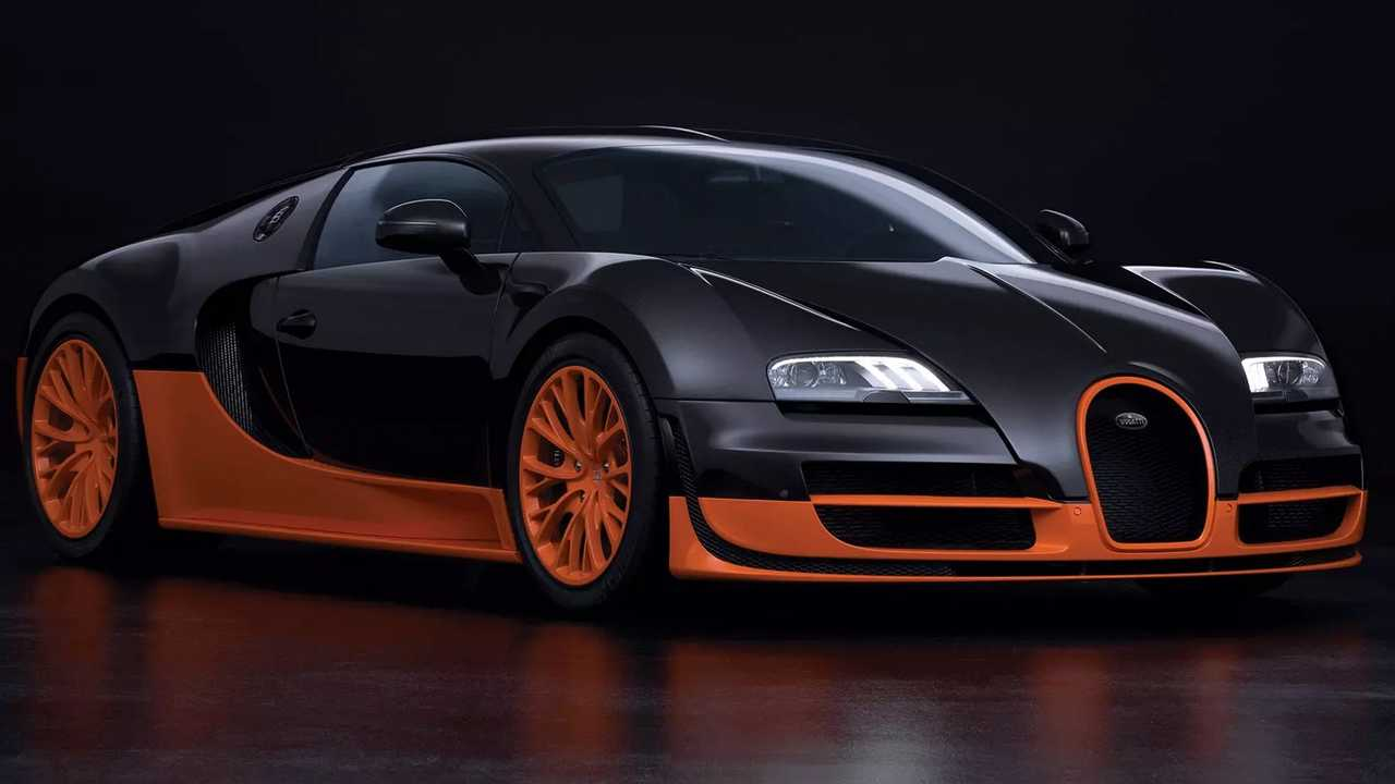 2. Bugatti Veyron Super Sport
