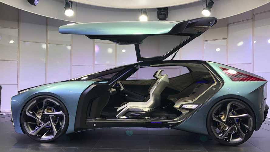 LF-30 Electrified Concept: Lexus wendet sich dem Elektroauto zu