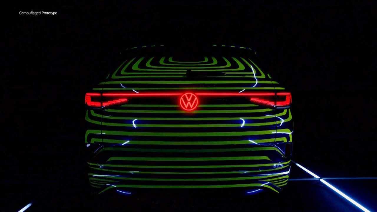 Capture d'écran du prototype VW ID.4