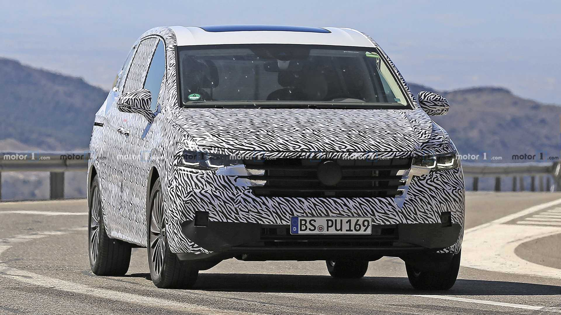 Bmw Of Newton >> VW Viloran Spy Shots Show New MPV For China