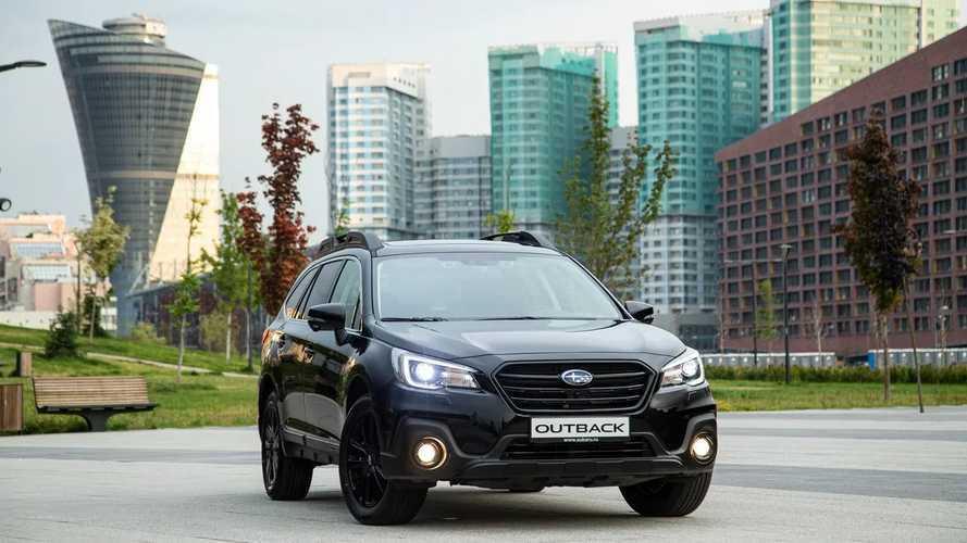 «Черную линию» Subaru Outback оценили в 130 тысяч рублей