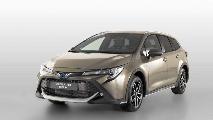 Toyota Corolla TREK 2019, formato de moda