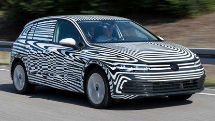 New VW Golf GTE Plug-In Hybrid Makes Spy Photo Debut