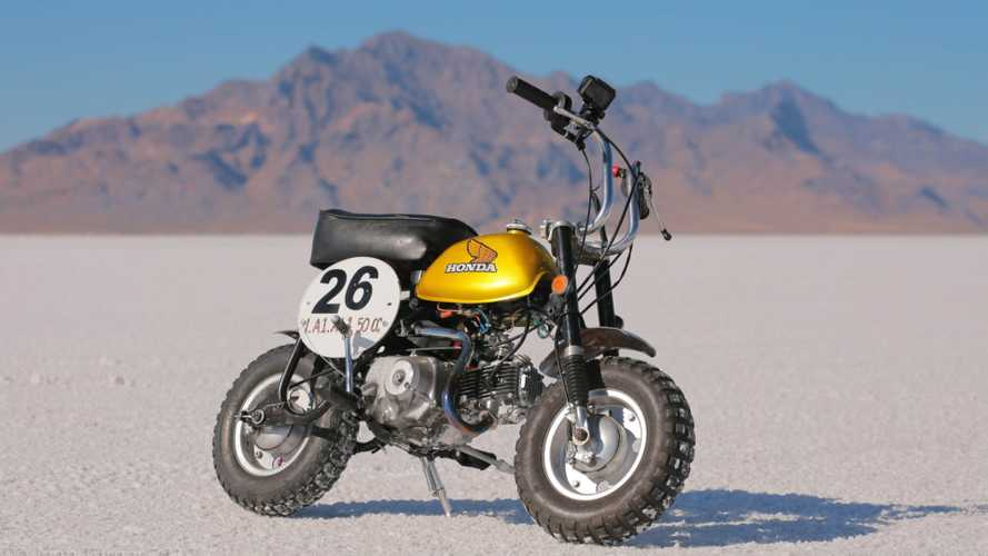Honda Monkey And Super Cub Aim For Speed Record