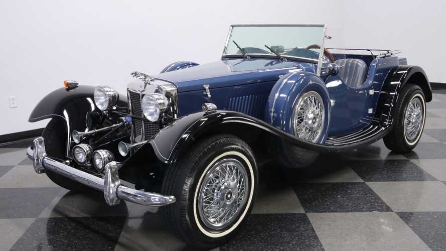 1936 jaguar ss100 replica