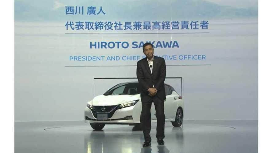 Nissan cambia CEO, a fine ottobre il sostituto di Saikawa