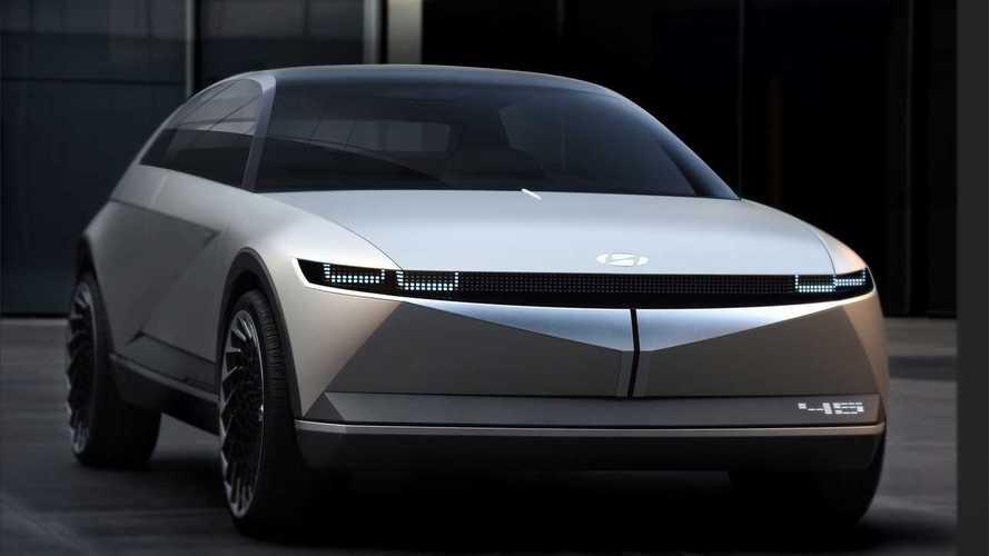 Hyundai 45: Elektrisch angetriebene Coupé-Studie auf der IAA 2019