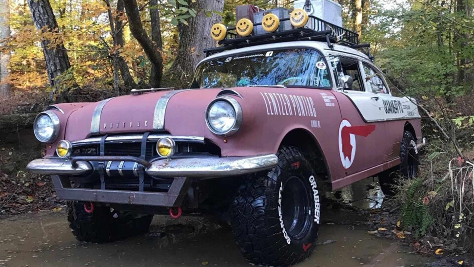 "[""Check Out This 1955 Pontiac Chieftain Off-Road Build""]"