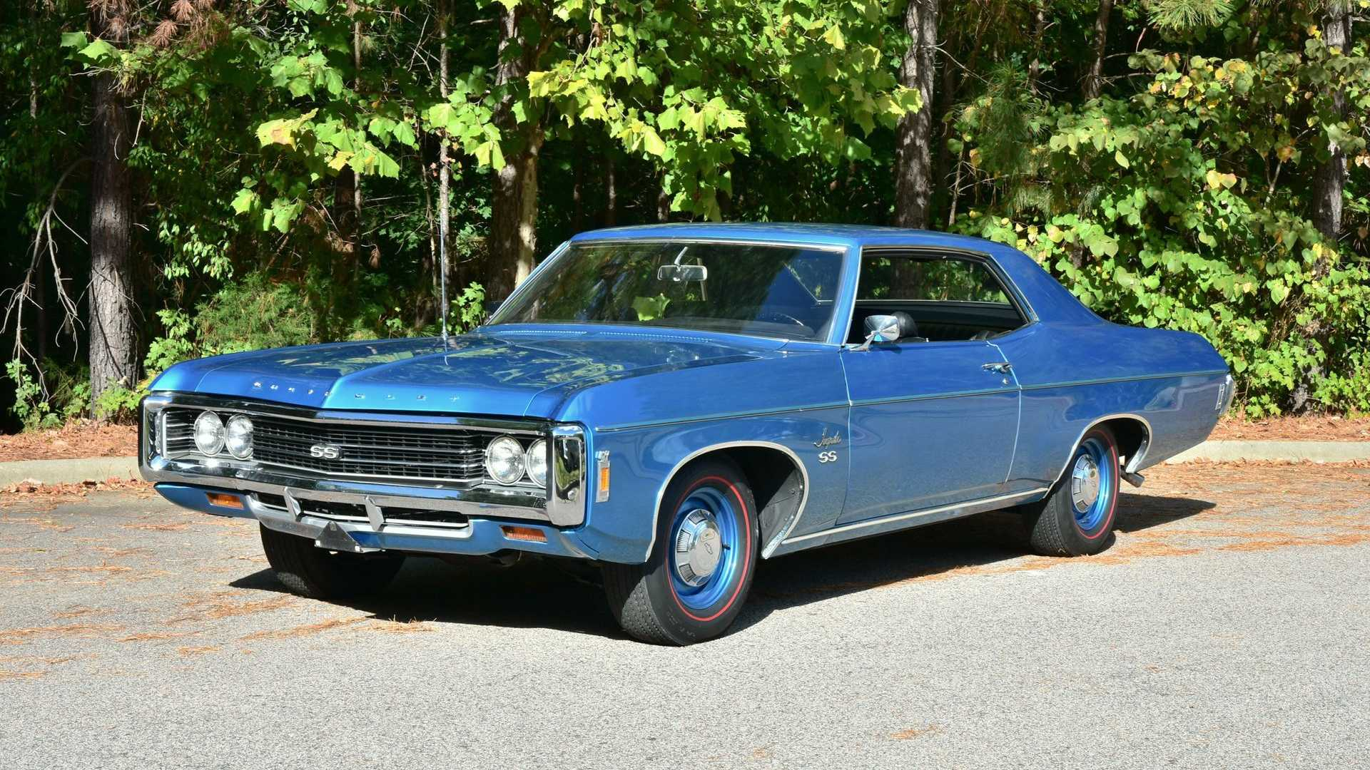 "[""Rare 1969 Chevrolet Impala SS Is A Beast""]"