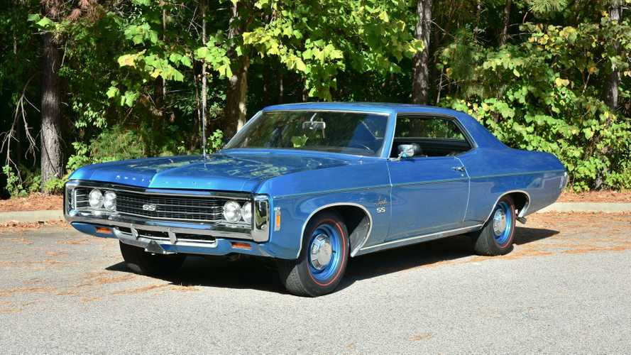 Rare 1969 Chevrolet Impala SS Is A One-Owner Beast