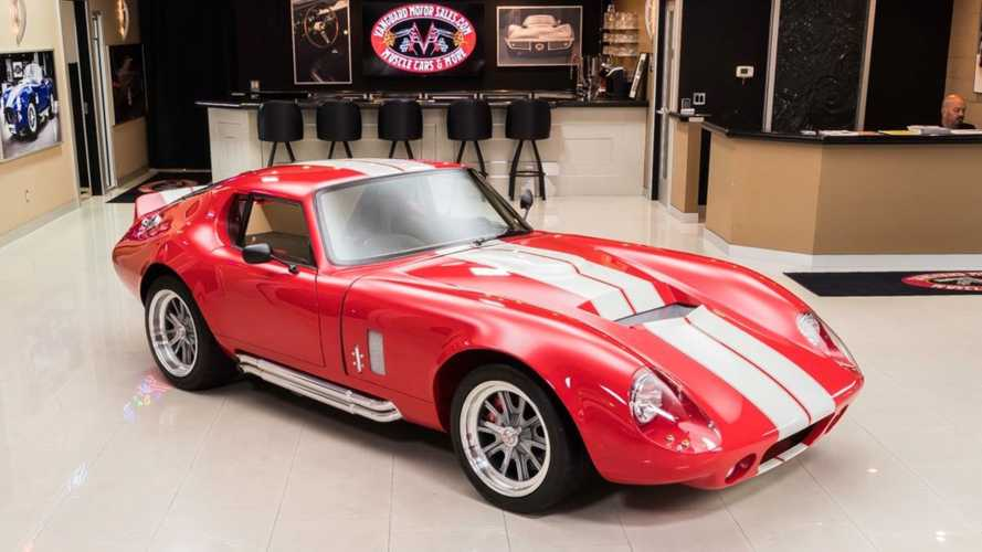Celebrate A Legend Driving A 1965 Shelby Daytona Coupe Factory Five