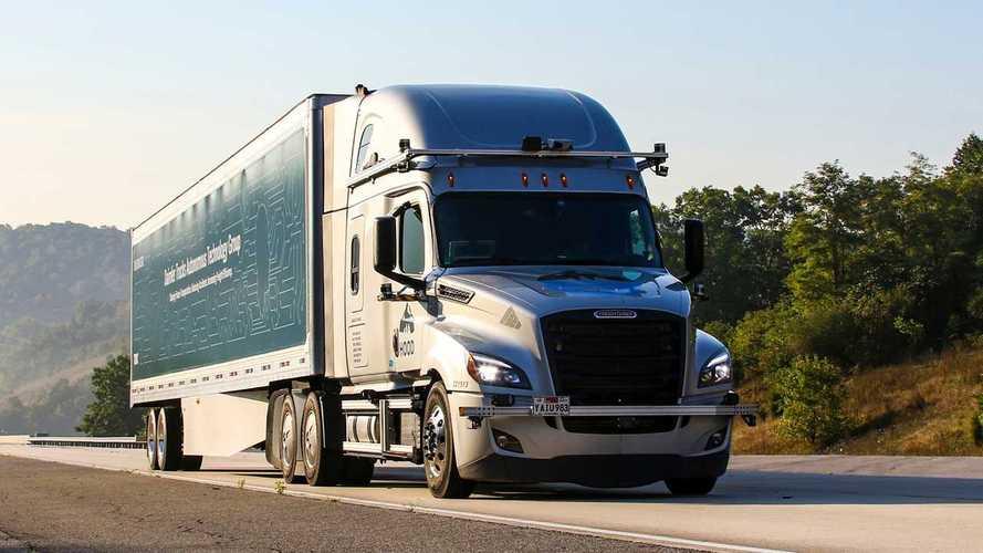Guida autonoma Daimler Trucks