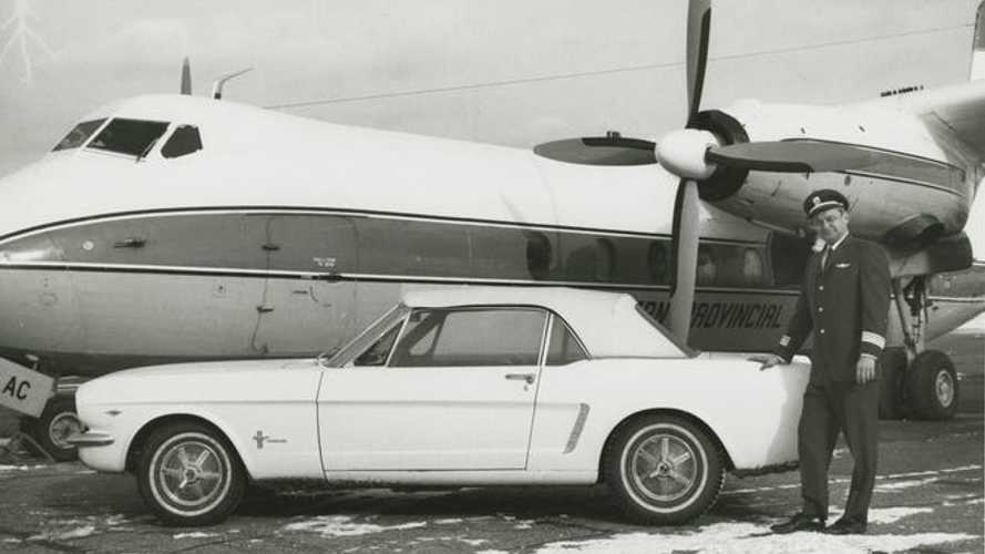 First Mustang Built Reunites With Salesman Who Mistakenly Sold It