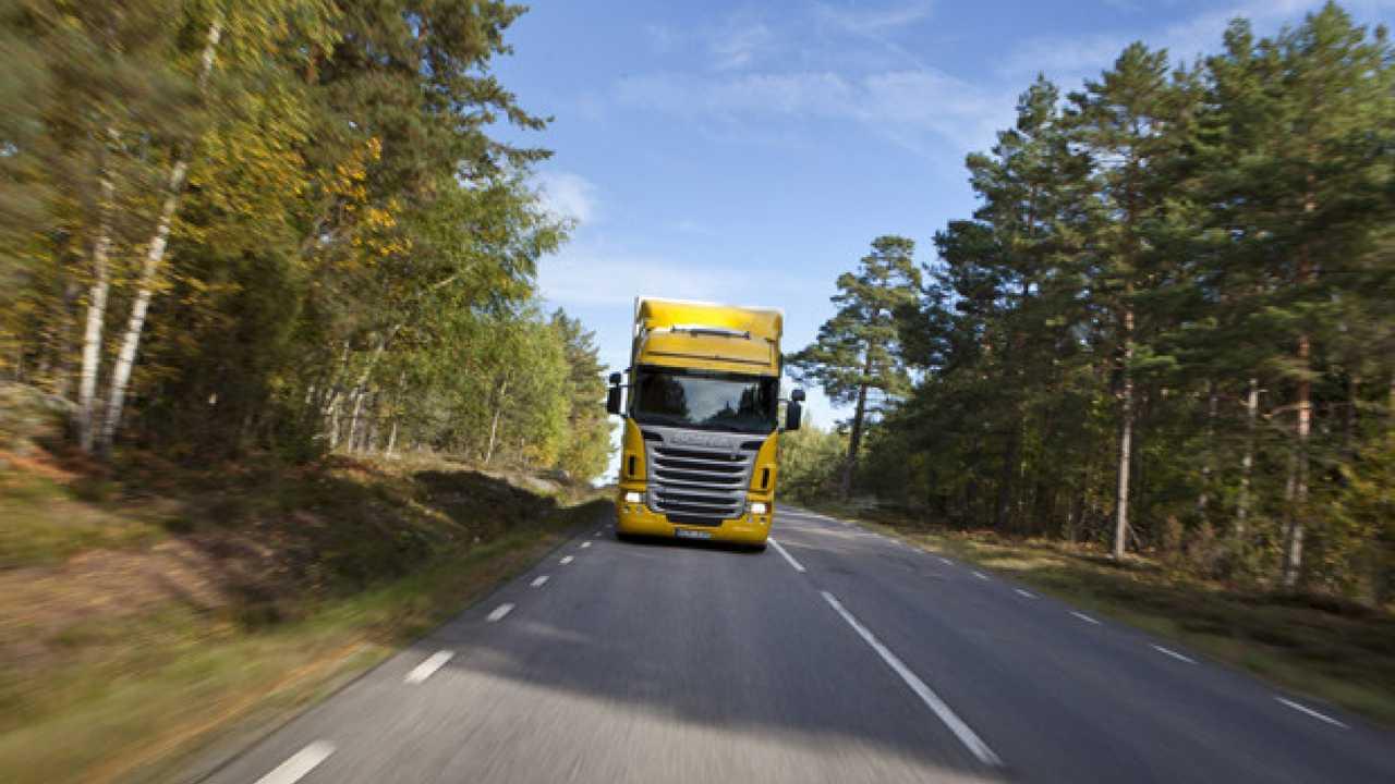 Scania, il camion previdente
