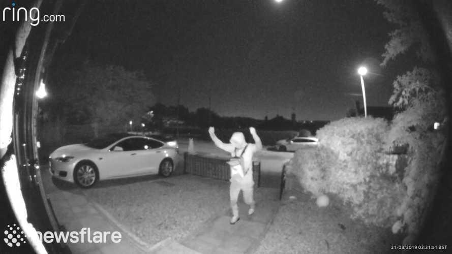 Gone In 30 Seconds: Watch A Tesla Model S Get Stolen In Seconds