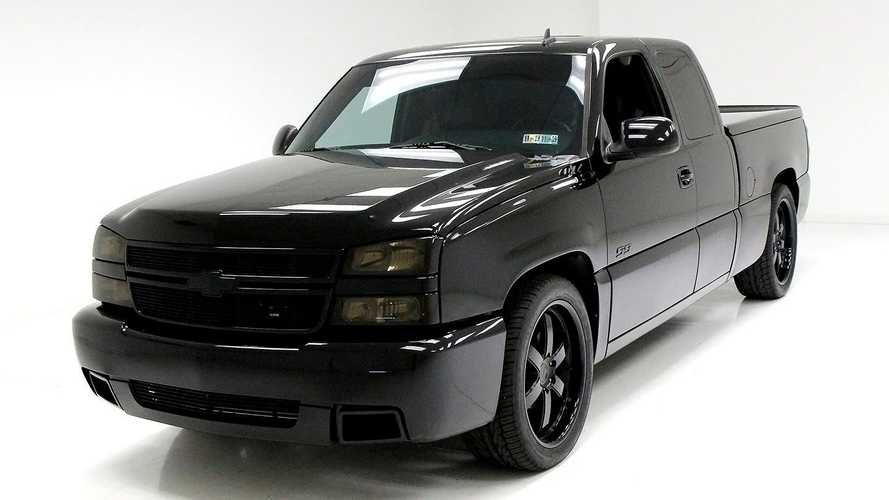 MLB Vance Worley's Former 2006 Chevrolet Silverado SS For Sale