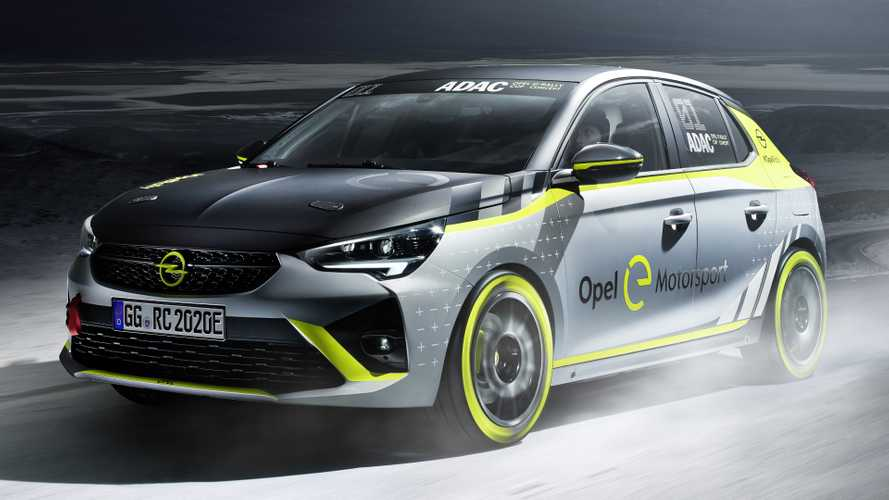 Vauxhall electric Corsa-e rally car revealed
