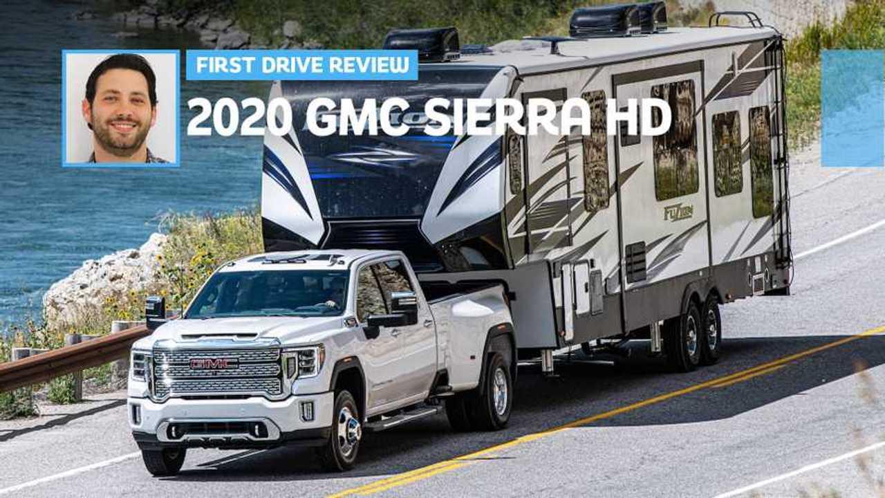 2020 GMC Sierra HD Diesel First Drive: Big Daddy