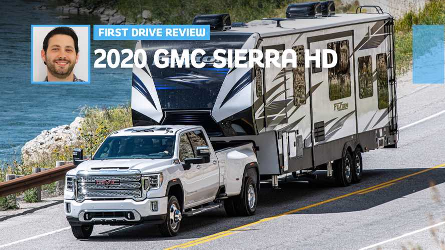 2020 GMC Sierra HD Diesel First Drive: Big Daddy