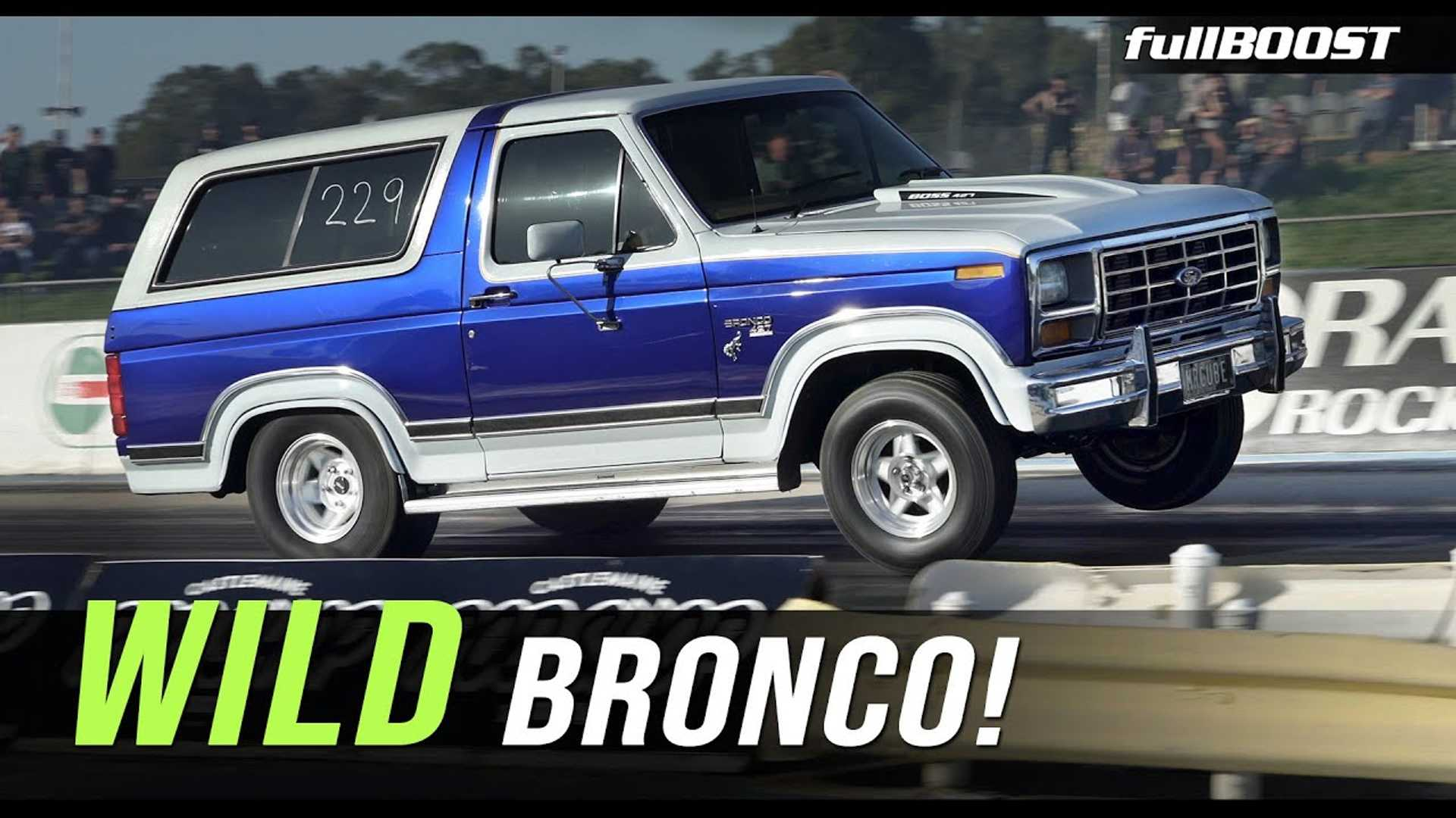 Bonkers Ford Bronco Sleeper Does 9-Second Quarter Mile