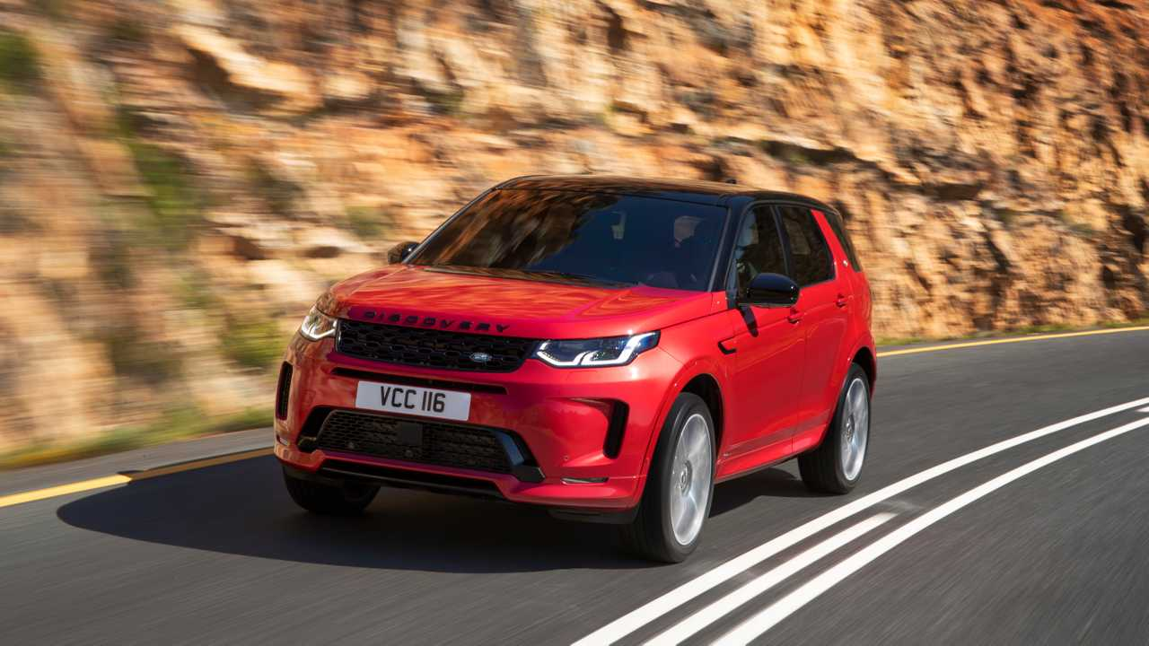 2021 Land Rover Discovery Details Emerge, Mild Hybrid Planned - Motor1