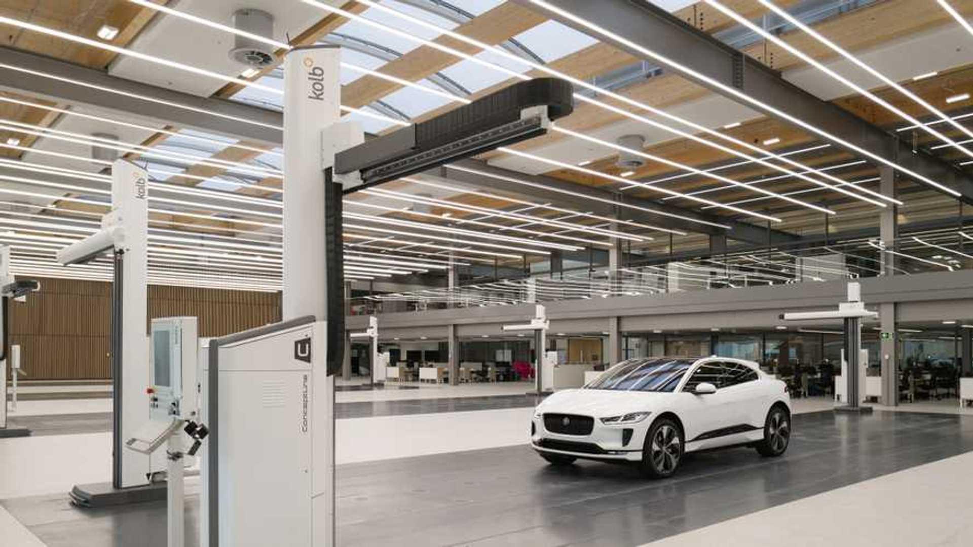 Take a look at Jaguar's new design studio