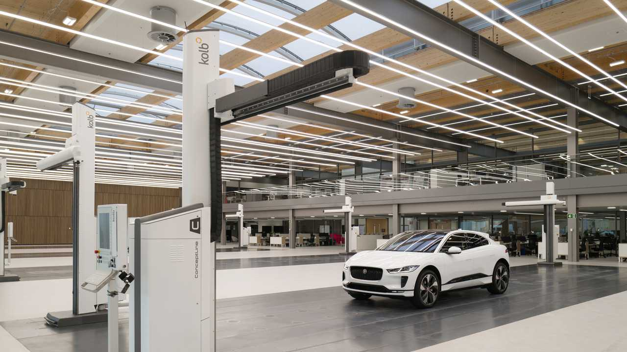 Jaguar's new design studio