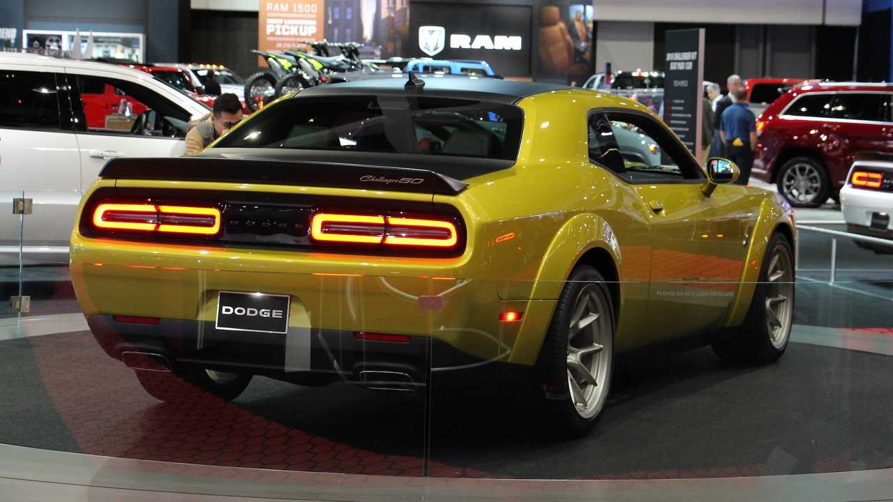 Update 2020 Dodge Challenger 50th Anniversary Edition Arrives With Retro Cues