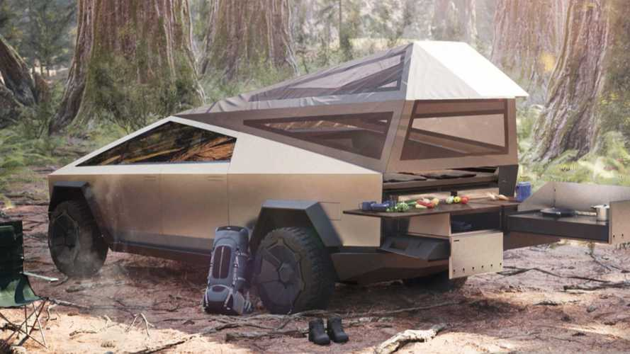 Tesla Cybertruck To Feature Heated Bed, Possible Pass-Thru For Camping