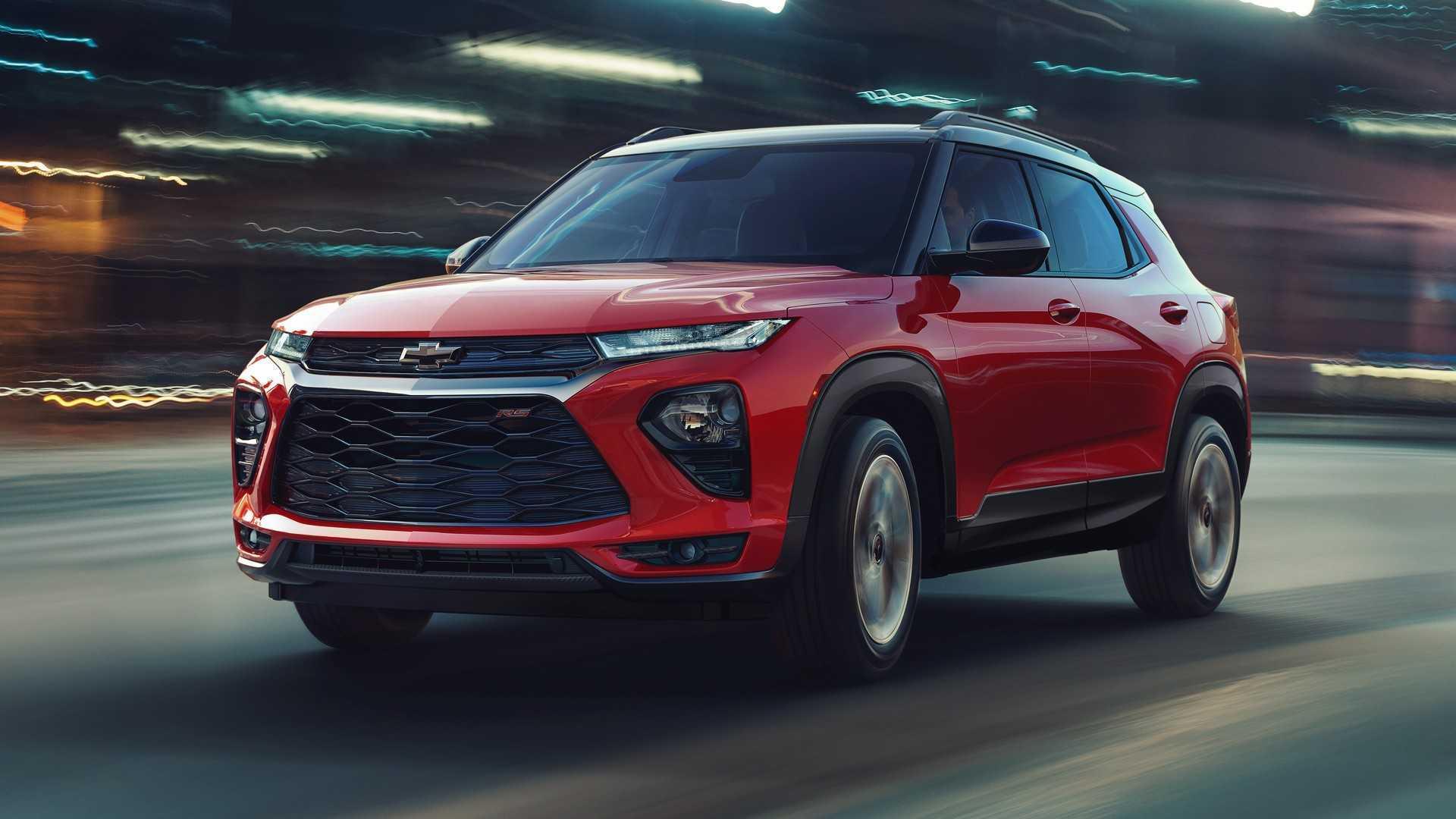 2021 Chevrolet Trailblazer Debuts As GM's Newest Compact SUV