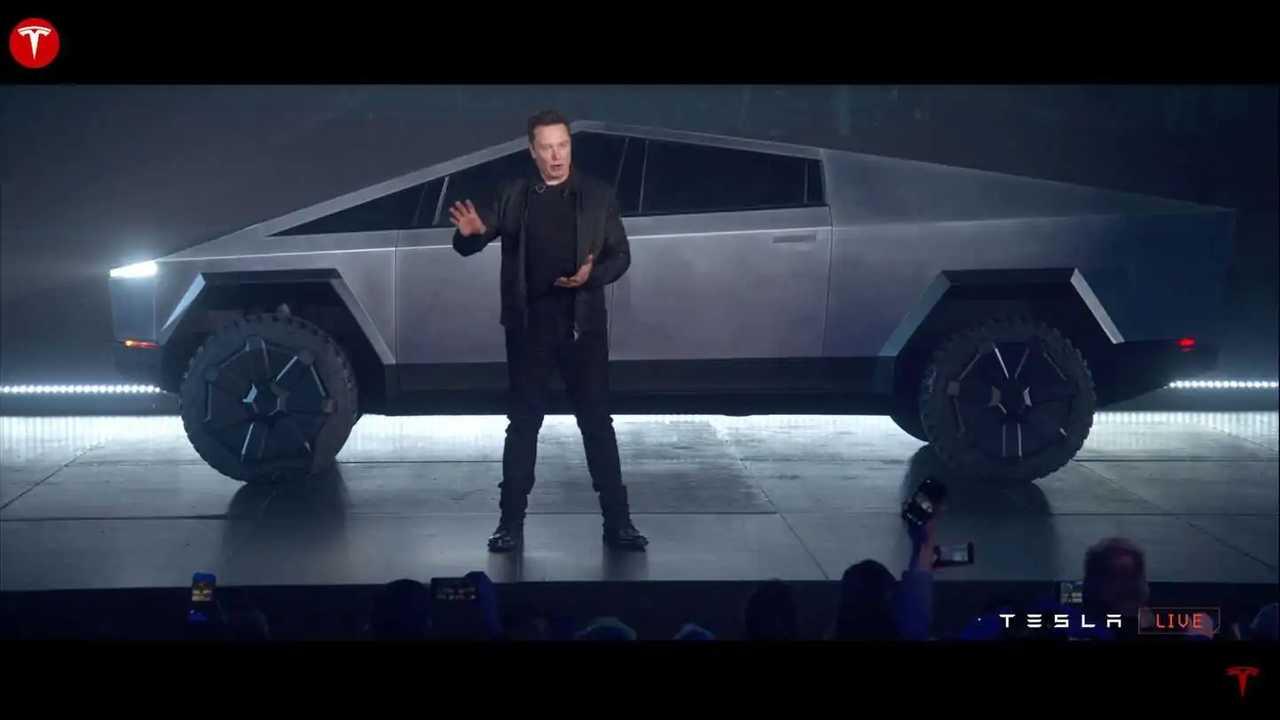 Tesla Cybertruck Musk