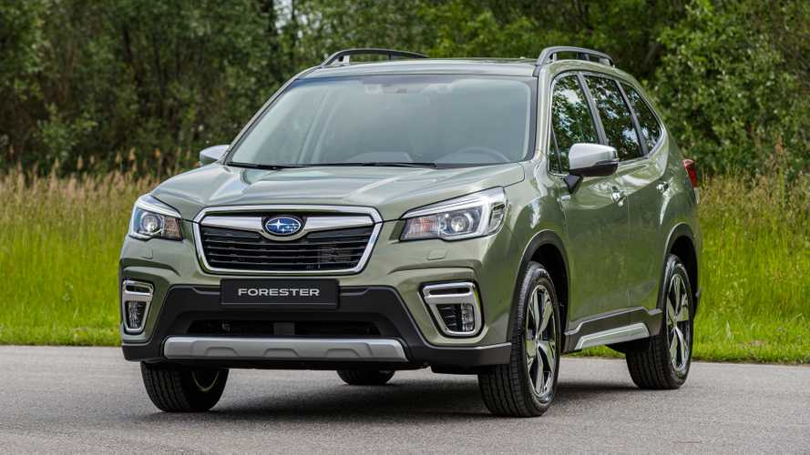 Subaru launches £34k hybrid Forester E-Boxer
