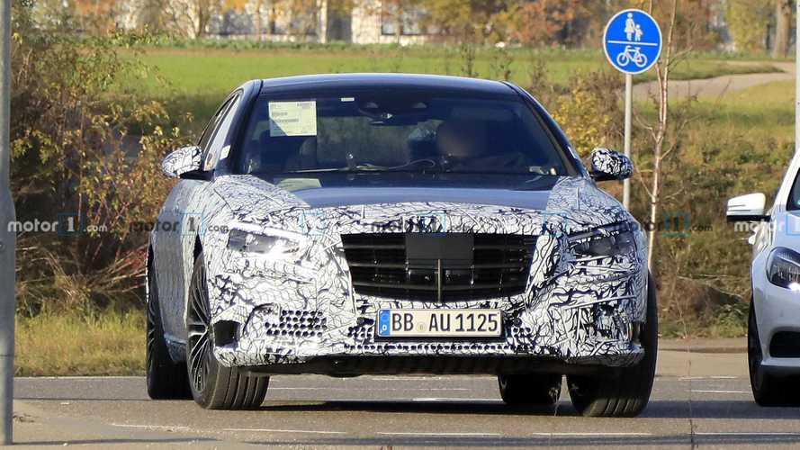 Шпионские фото Mercedes-Benz S-класса нового поколения