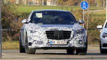 2021 Mercedes S-Class spy photos