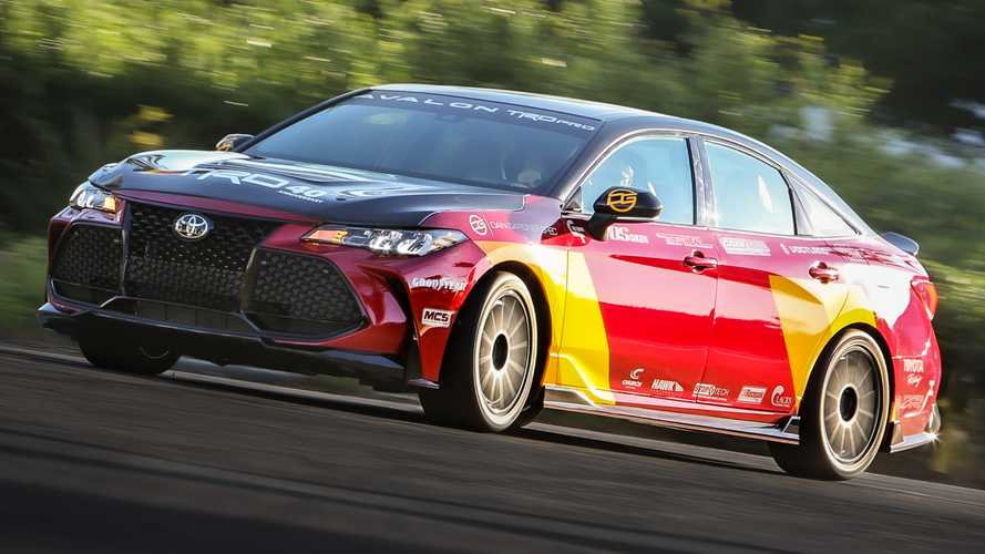 Toyota Avalon TRD Pro Marks 40 Years Of TRD With 330-HP Concept