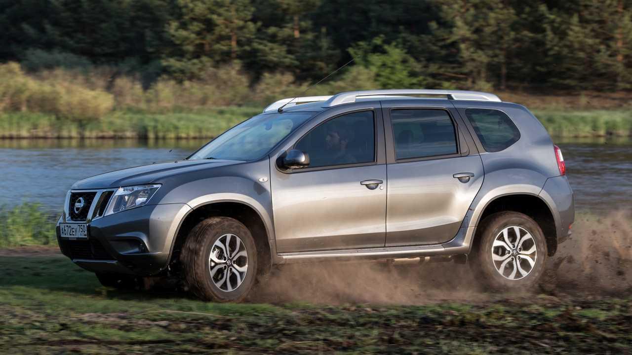 Nissan Terrano in der aktuellen Version für Russland