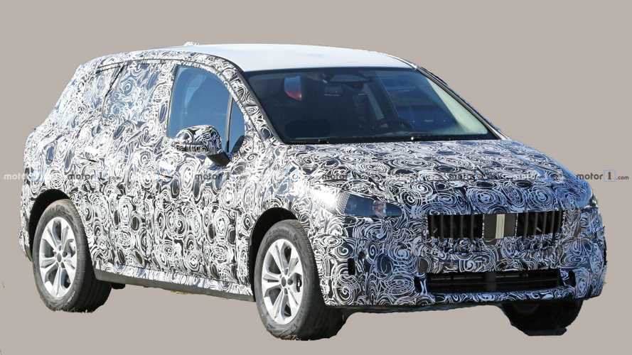 BMW 2 Series Active Tourer first spy photos