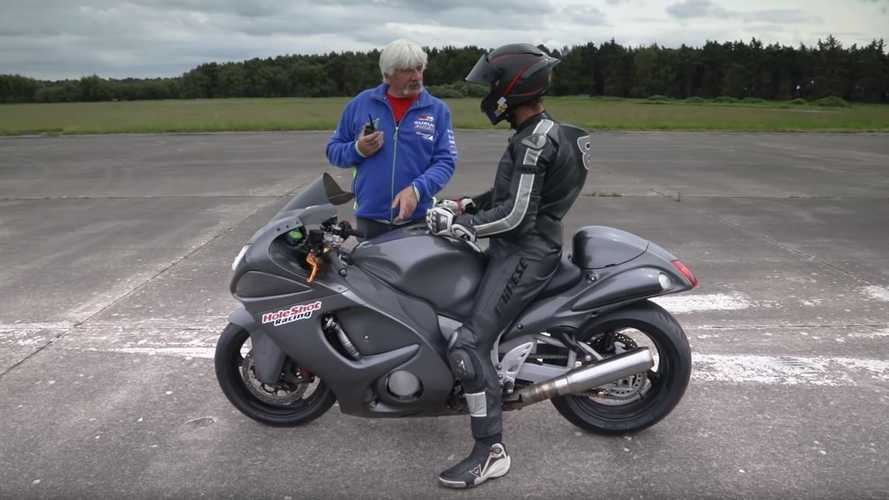 Speed freak Guy Martin wins one-mile race at 270 mph