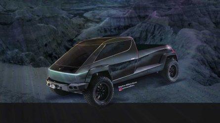 All-New Tesla Pickup Truck Cyberpunk Render Is As Real As It Gets