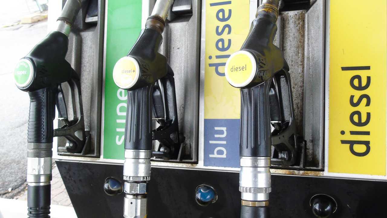 Pompa distributore benzina e diesel